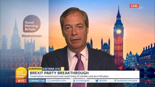Nigel Farage blows up at host