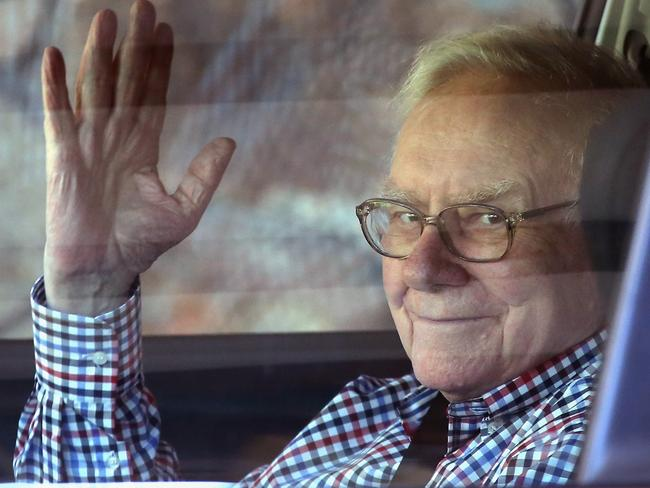 Warren Buffett is renowned for his old school approach to investing. Pic: Scott Olson/Getty Images.