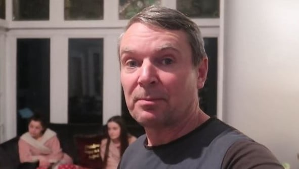 Dad Noel posted a vlog as they announced the news.