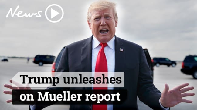 Mueller report: Trump unleashes after findings reveal no collusion