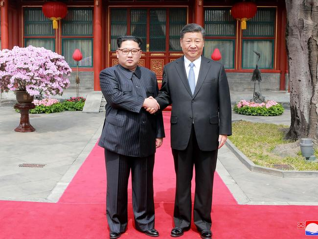 Critics suggest Kim Jong-un needed to reaffirm China's support as back-up.