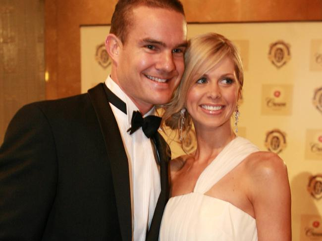 Anna Green turned heads at the 2004 Brownlow Medal.