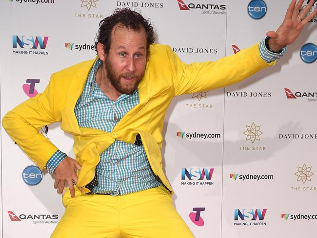 Australian musician Ben Lee arrives at the 30th ARIA Awards. Picture: AAP