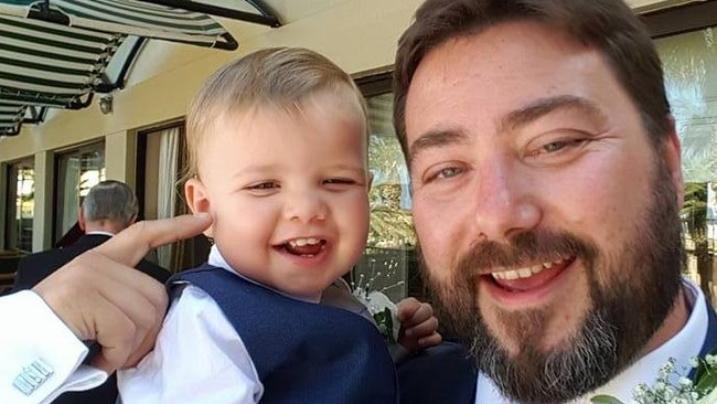 Carl Benjamin is a married father of two and hard right political commentator. Picture: Facebook