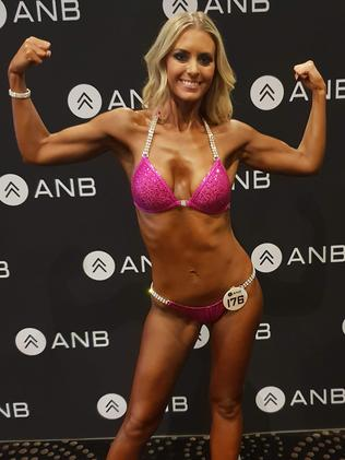 She won competing as a vegan when people didn't think she could.