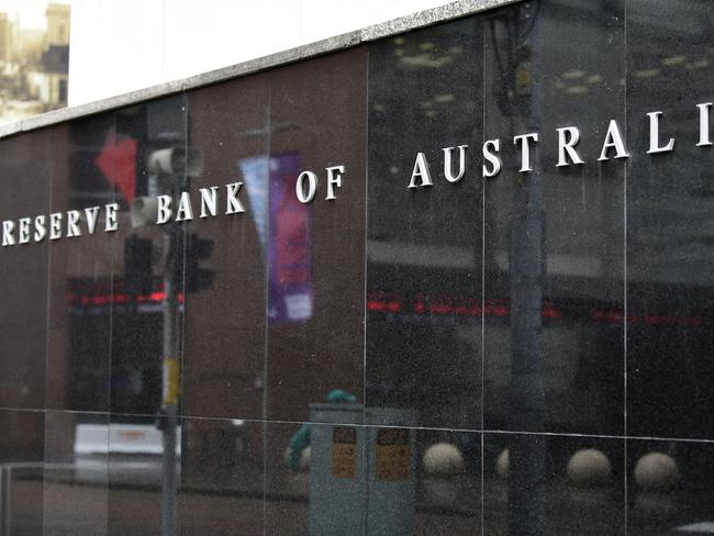 The Reserve Bank of Australia is fast running out of options. Picture: Bianca De Marchi/AAP