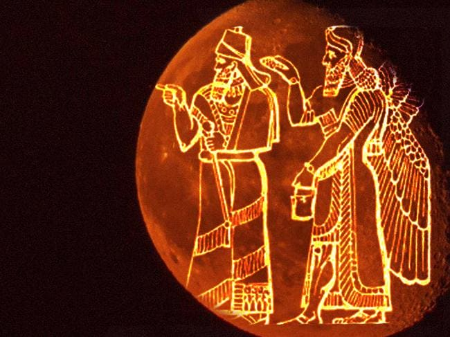 In the ancient Babylonian religion, blood moons could demand the king be sacrificed to 'purify' the land.
