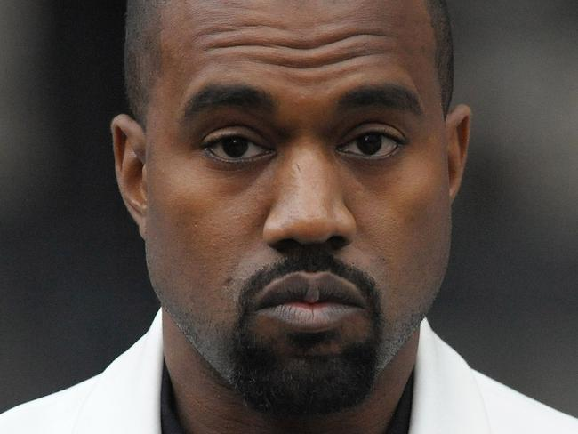 Some good news for Kanye West who received eight Grammy nominations. Picture: AFP