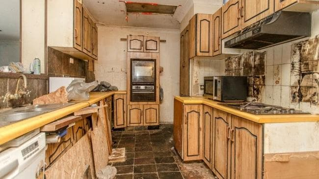 "The kitchen was one of many ""revolting"" rooms."