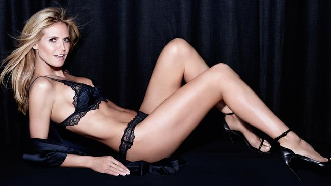 ee5c142b38 Heidi Klum  lingerie campaign for Bendon launched in Australia