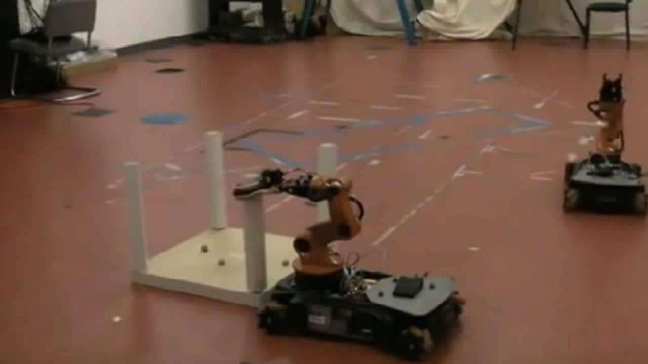 Singapore scientists introduce furniture-assembling robot