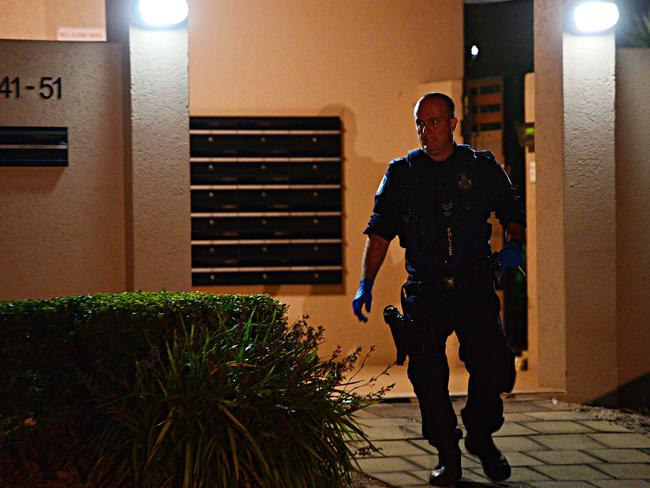 A women was allegedly stabbed to death in her apartment in Oonoonba. Picture: Zak Simmonds