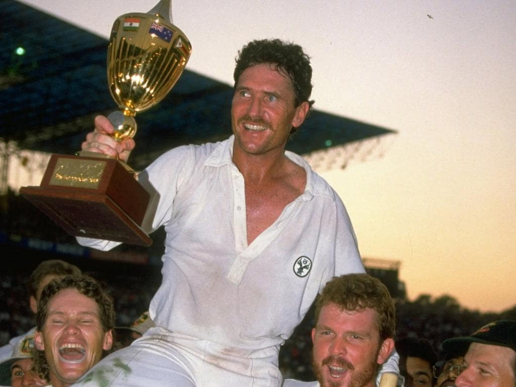 Allan Border won the World Cup in 1987.