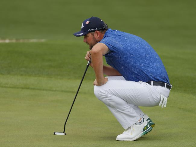 Marc Leishman says the dream is dashed, but he's still gunning for a top 12 finish to book a trip back next year.