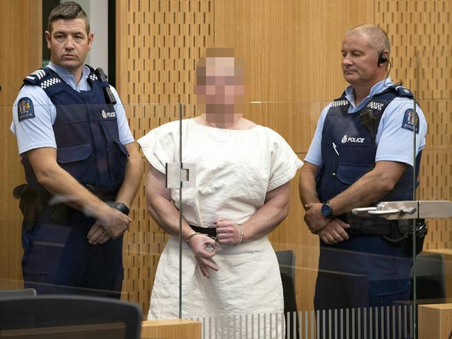 "Brenton Tarrant could be a ""marked man"" in prison. Picture: AFP"