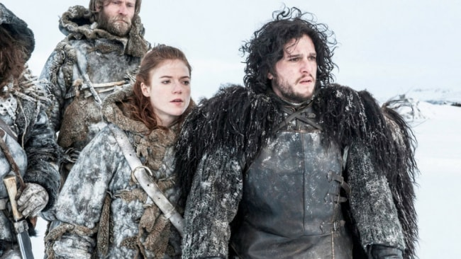 Ygritte and Jon Snow. Photo: HBO