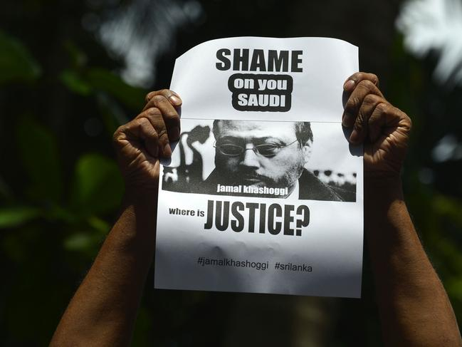 The killing has prompted global outrage. Picture: AFP