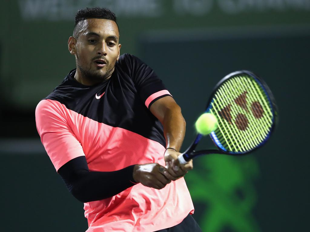Andre Agassi has lavished praise on Nick Kyrgios.