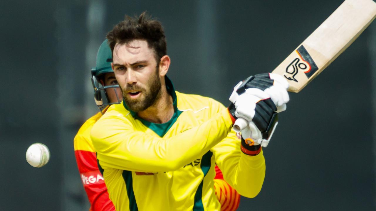 Glenn Maxwell made 71 runs at 23.66 with a strike rate of 136.53.