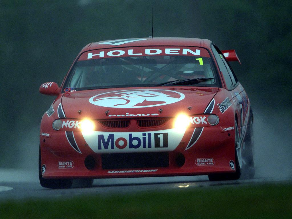 16 Nov 2000:  Mark Skaife of Holden Racing Team in action during the V8 Super Car Practice at Mount Panorama, Bathurst, Australia. XDigital Image. Mandatory Credit: Matt Turner/ALLSPORT