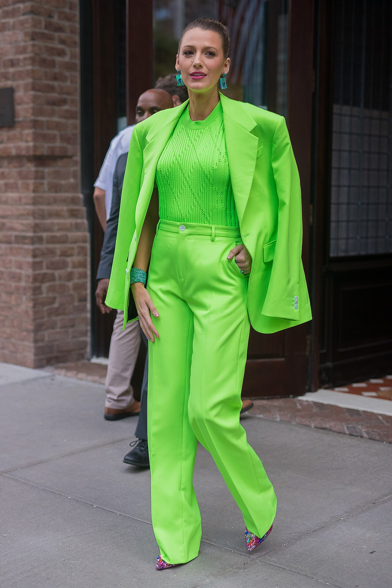 5 ways to wear neon as well as Blake Lively
