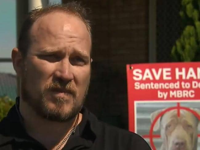 Nathan Wallace says he will 'always be remorseful' that the little girl was hurt. Picture: Channel 9