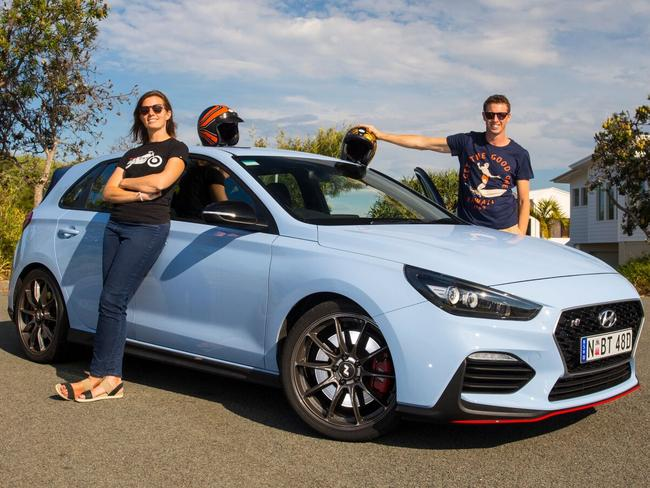"""Jules and Iain: """"The i30 N could help recapture (our) misspent youth."""""""