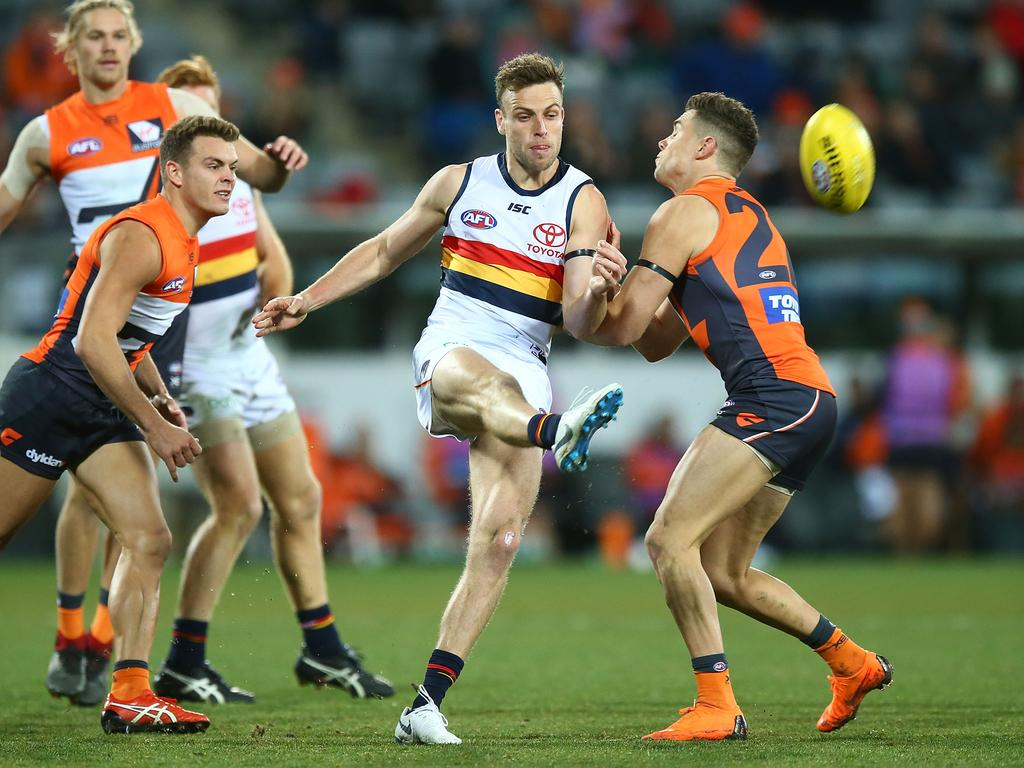 Adelaide will be looking to bounce back from their loss with a win against North Melbourne Picture: Mark Nolan/Getty Images