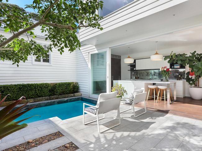 Joel Barbuto's current home at 15 Cliff St, Watsons Bay, now goes to auction on September 24 with a $4 million guide.