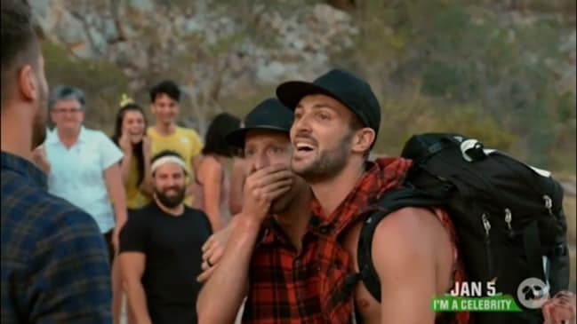 Tim Sattler and Rod Jones are crowned the Amazing Race Australia 2019 winners (Ten)
