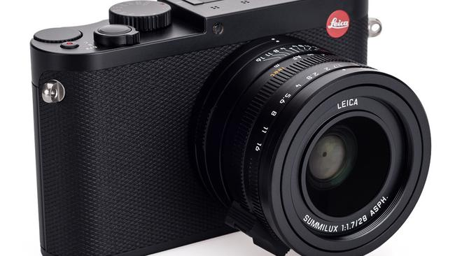 Sophisticated ... Leica's Q Typ 116 camera features a full-frame sensor and 28mm f1.7 lens.