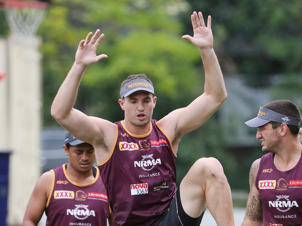 Corey Oates will work with new coach Anthony Seibold. Picture: Peter Wallis