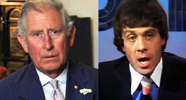 EXCLUSIVE: Prince Charles gives Molly Meldrum a right royal roasting