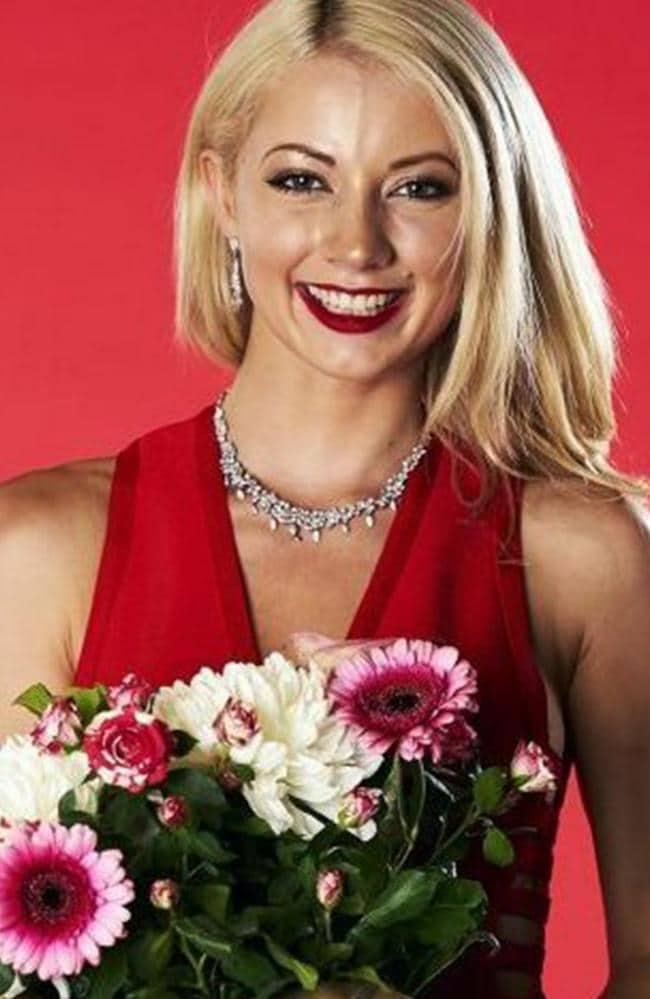 Cecilia Jastrzembska on UK show First Dates. Picture: Channel 4