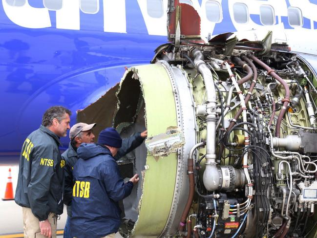 The hearing has revealed chilling details from the fatal flight. Picture: NTSB via AP