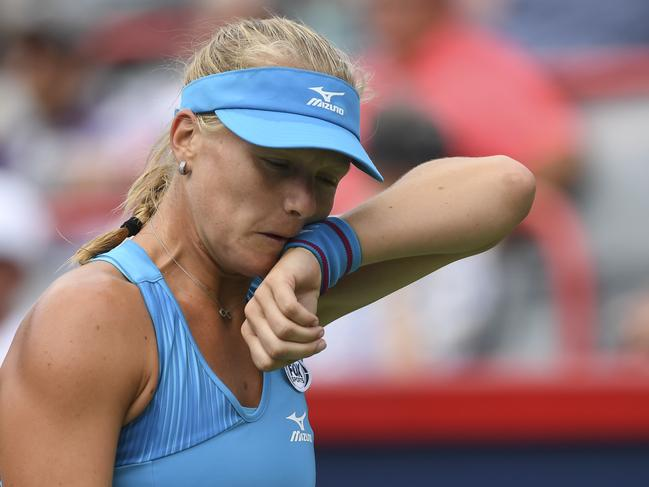 Kiki Bertens made far too many errors. Picture: Getty Images