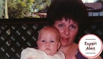 Kathleen and baby Sarah. Photo: Supplied