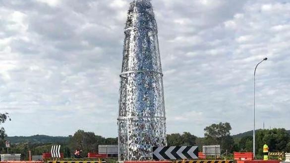 Byron Bay sculpture: 'Giant dildo' gobsmacks Aussies