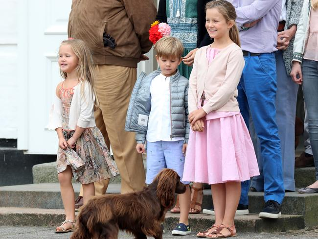 Danish Royal Family pose for photos in Denmark, with