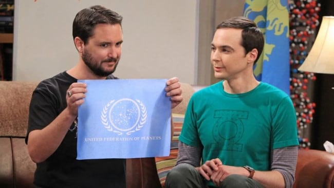 Wil Wheaton guest-starred on the show.