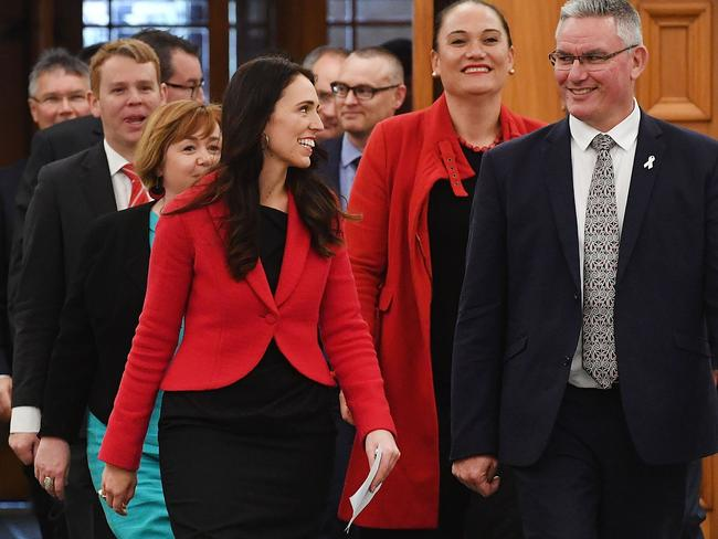 She's been a politician nine years — and  <i>now</i> she has to prove she can balance politics and family? Picture: Marty Melville