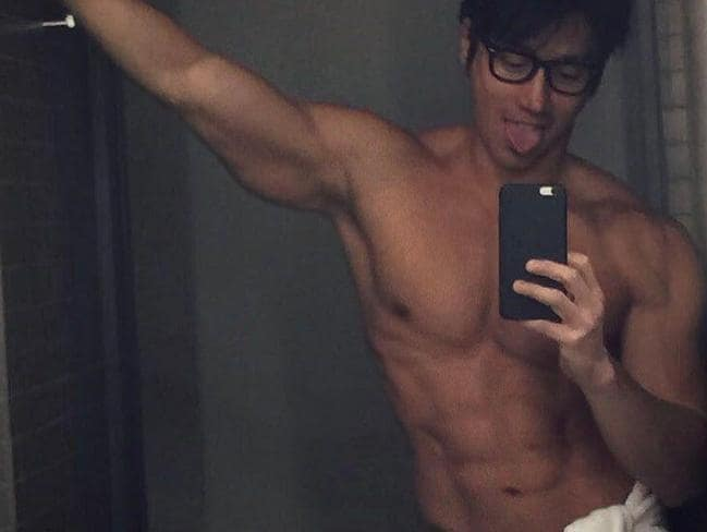 The male model poses in his 'birthday suit' as he turns 50. Picture: Instagram