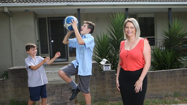 Ms Jones offered six months' rent in advance to get into a school zone. Picture: David Crosling