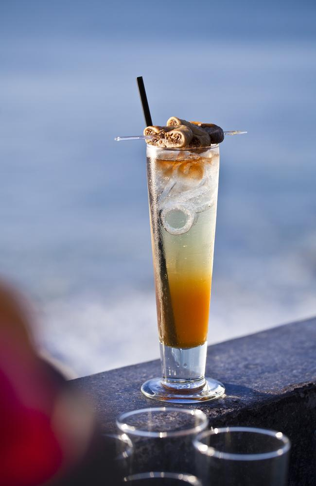 The signature Rockatonic cocktail looks like our type of Friday drink.