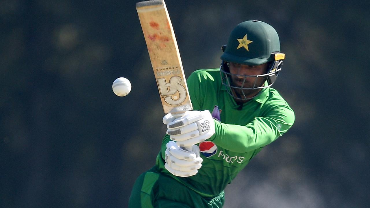 Opener Fakhar Zaman and Babar Azam put on a 78-run opening stand.