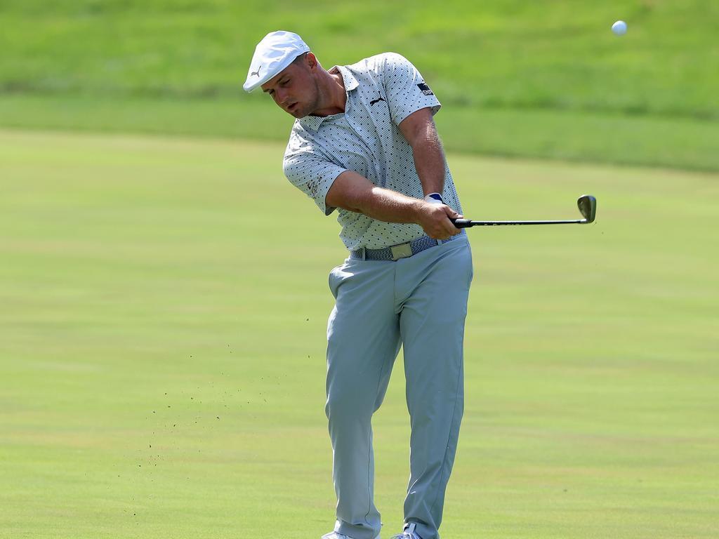 Bryson DeChambeau is golf's newest hulk.