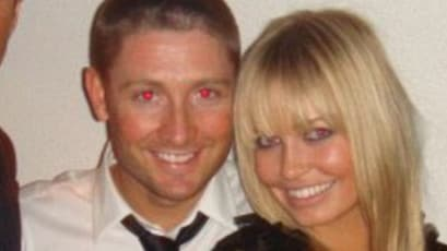 Michael Clarke and Lara Bingle became engaged shortly after they started dating. Picture: Facebook