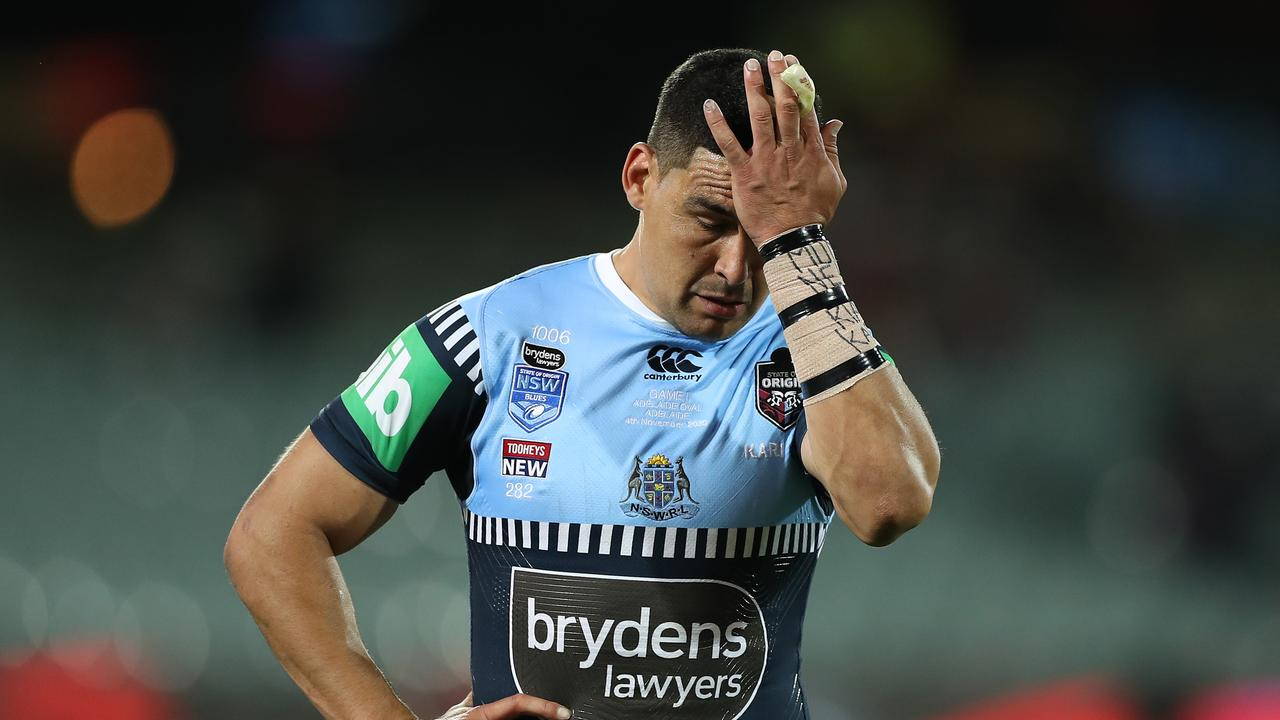 Cody Walker had to make do with a spot on the bench on Wednesday
