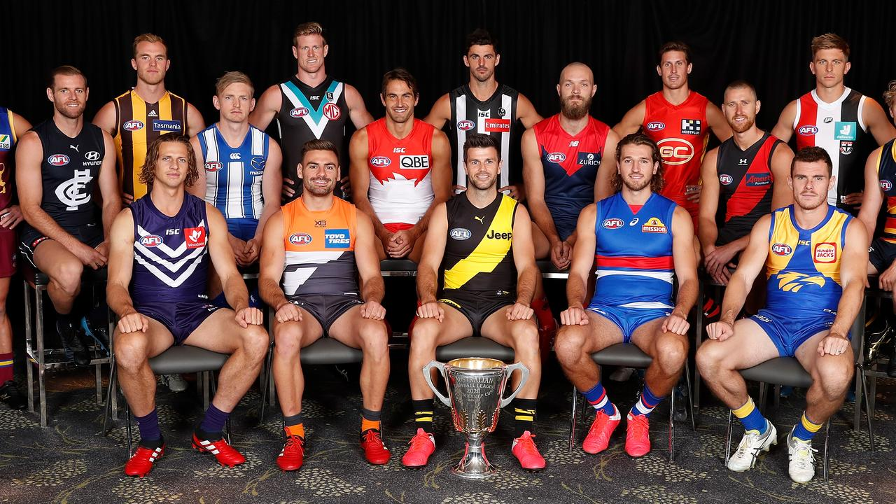 The Fox Footy Live panel debated the future setup of the competition (Photo by Michael Willson/AFL Photos).