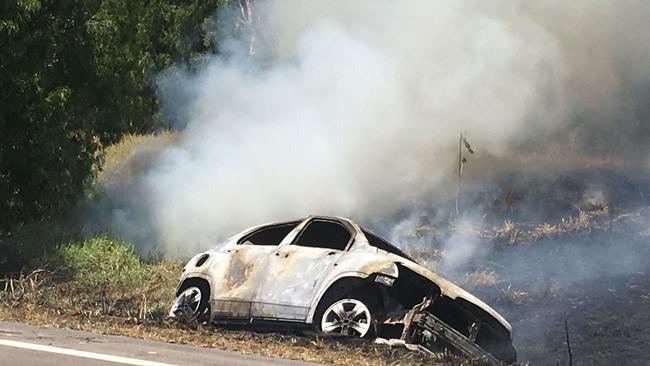 Car Crash Bruce Highway Townsville